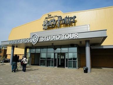 Londýn po stopách Harryho Pottera - letecky