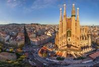 Barcelona a pobrežie Costa Brava