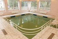 Sedací bazén uhličitý
